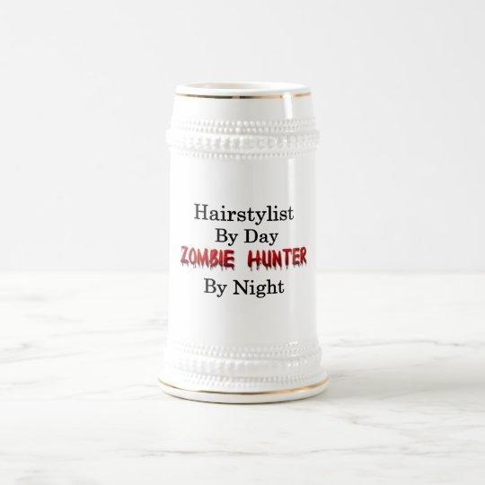 Cazador del Hairstylist/del zombi Jarra De Cerveza