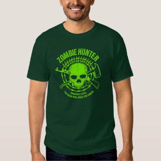 Cazador del zombi camisas