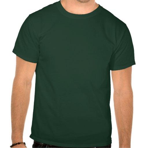 Cazador del zombi camiseta
