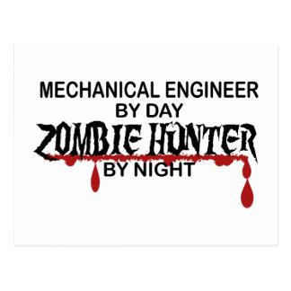 Cazador del zombi del ingeniero industrial postal