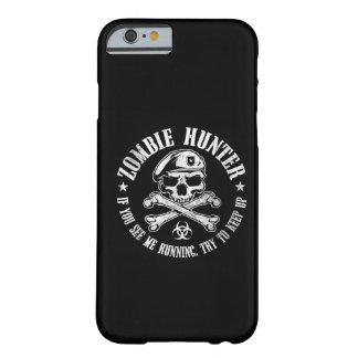 cazador del zombi funda de iPhone 6 barely there