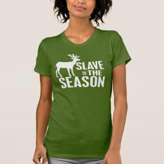 Cazador divertido de los ciervos camiseta