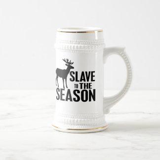 Cazador divertido de los ciervos tazas de café