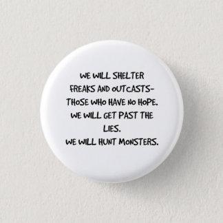 Cazaremos el botón de la cita de los monstruos