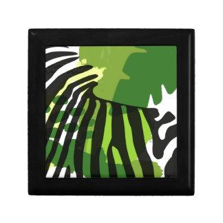 Cebra africana caja de regalo