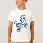 Cebra de Zazzling Camiseta