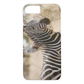Cebra en el parque nacional de Meru, Kenia Funda iPhone 7