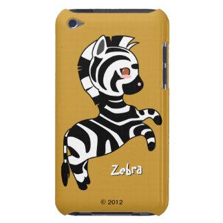 Cebra linda Case-Mate iPod touch funda