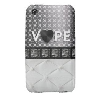 Cebra retra Elegent de Vape Case-Mate iPhone 3 Protector