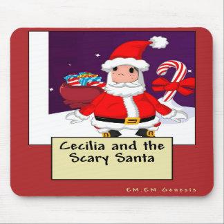 Cecilia y el Santa asustadizo Tapetes De Ratones