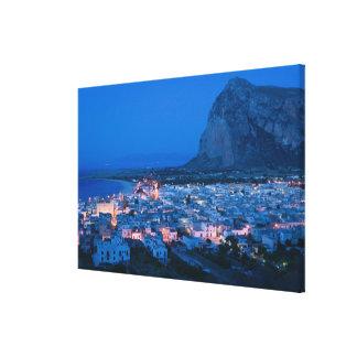CEJA de Italia, Sicilia, SAN VITO LO, ciudad de va Impresión En Lona