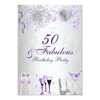 Celebración 50 y invitación fabulosa del