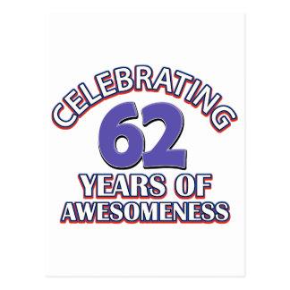 Celebración de 52 años postal