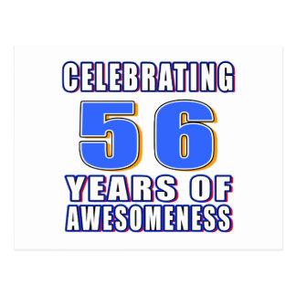 Celebración de 56 años de awesomeness postal