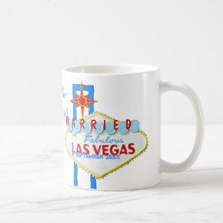 Celebración de la boda de Las Vegas Taza De Café