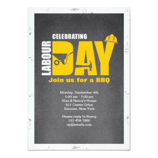 Celebración de la invitación del Día del Trabajo