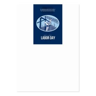 Celebración de la tarjeta de felicitación del Día Plantillas De Tarjeta De Negocio