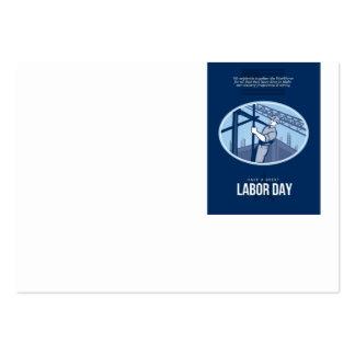 Celebración de la tarjeta de felicitación del Día Plantillas De Tarjetas De Visita