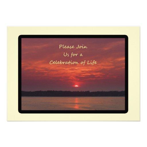 Celebración de las invitaciones de la vida anuncios personalizados