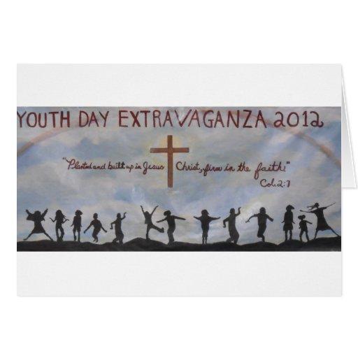 ¡Celebración de nuestro día de la juventud! Felicitacion