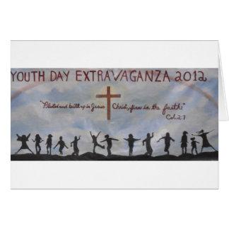 ¡Celebración de nuestro día de la juventud! Tarjeta De Felicitación
