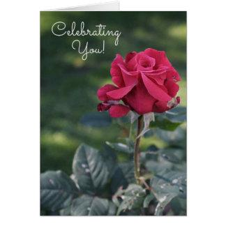 Celebración de su tarjeta de cumpleaños interna de