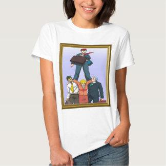 Celebración de una promoción camisetas