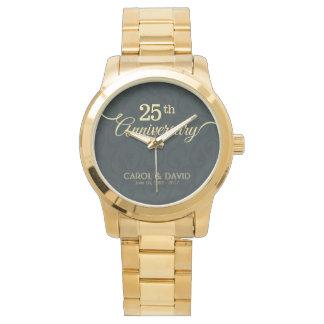 Celebración del 25to aniversario. Adaptable Reloj De Mano