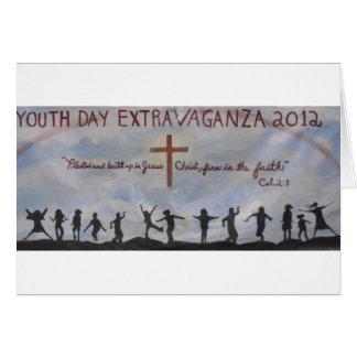 ¡Celebración del día de la juventud! Tarjeton