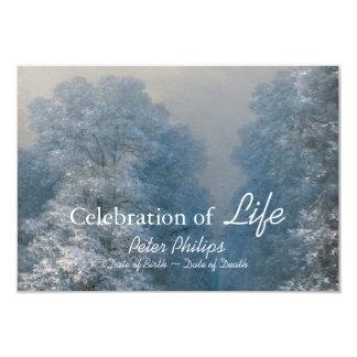 Celebración del invierno de la vida - invitación