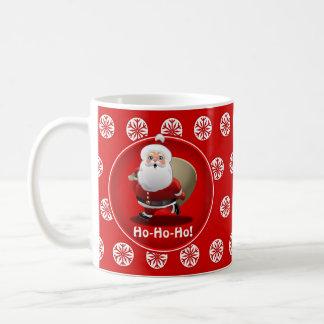 Celebración del navidad de Santa Taza De Café