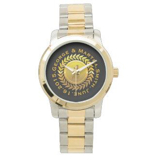 Celebración del primer aniversario. Adaptable Reloj De Mano