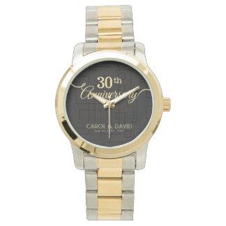 Celebración del trigésimo aniversario. Adaptable Reloj De Mano