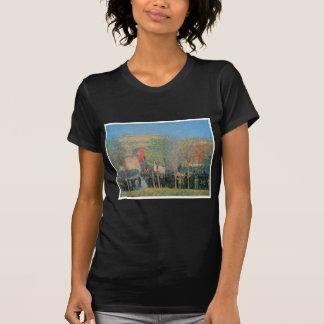 Celebración Italo-Americana, cuadrado de Camiseta