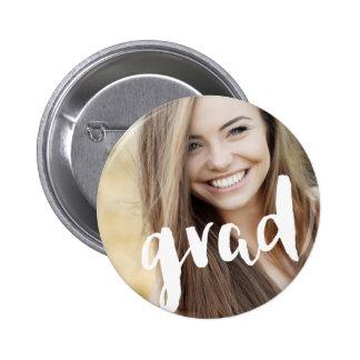 Celebración moderna personalizada foto del chapa redonda de 5 cm