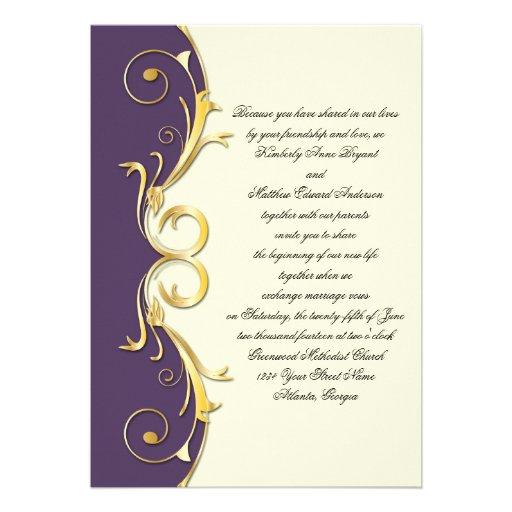 Imagenes de tarjetas de invitación para bodas de oro - Imagui