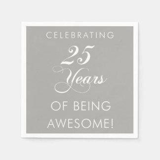 Celebrando 25 años de ser servilletas servilletas desechables
