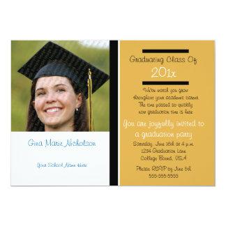 Celebrando la invitación graduada del fiesta