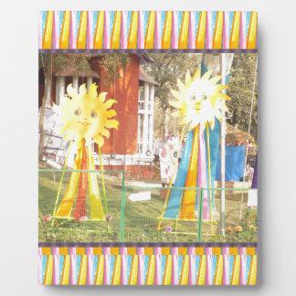 celebrati de los festivales de las decoraciones de placa expositora