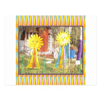 celebrati de los festivales de las decoraciones de postal