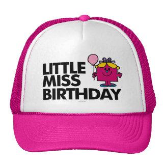 Celebre a pequeña Srta. Birthday Gorras De Camionero