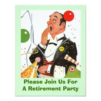 Celebre con la invitación retra del fiesta de