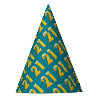 Celebre el 21ro cumpleaños gorro de fiesta
