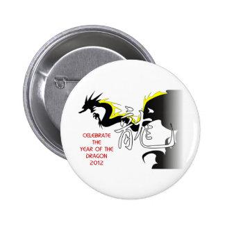 Celebre el año del dragón 2012 pin