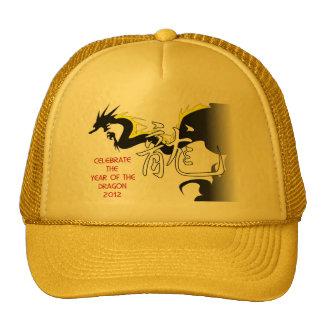Celebre el año del dragón 2012 gorras