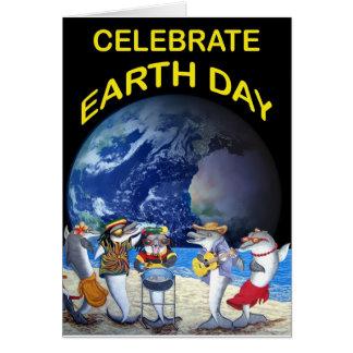 Celebre el Día de la Tierra Tarjeta De Felicitación
