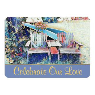 Celebre nuestra invitación del boda del amor