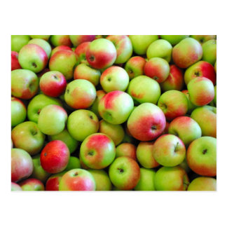 Celemines de manzanas postal