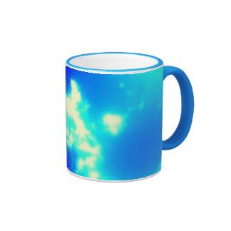 celestial - taza, vaso de café/ taza de dos colores