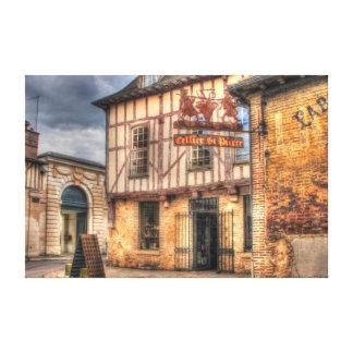 Cellier St Pierre Troyes Francia Lona Envuelta Para Galerías